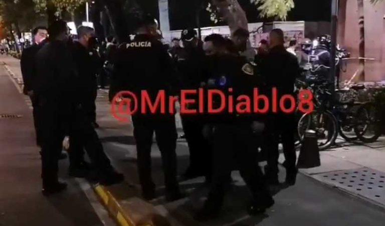 Balacera en Paseo de la Reforma deja un muerto y dos detenidos | VIDEOS