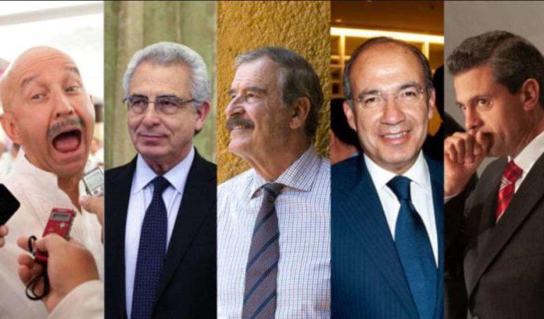 INE aprueba consulta para enjuiciar a expresidentes de México