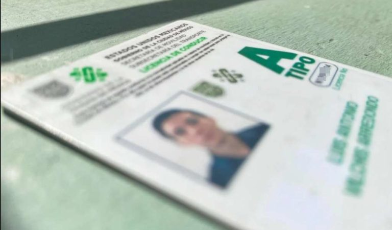 Licencia de conducir perdido; así lo puedes tramitar en línea