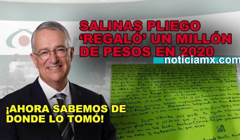 Abuelito se suicida porque Banco Azteca le robó un millón de pesos ¿Recuerdan cuando Salinas Pliego regaló dinero?