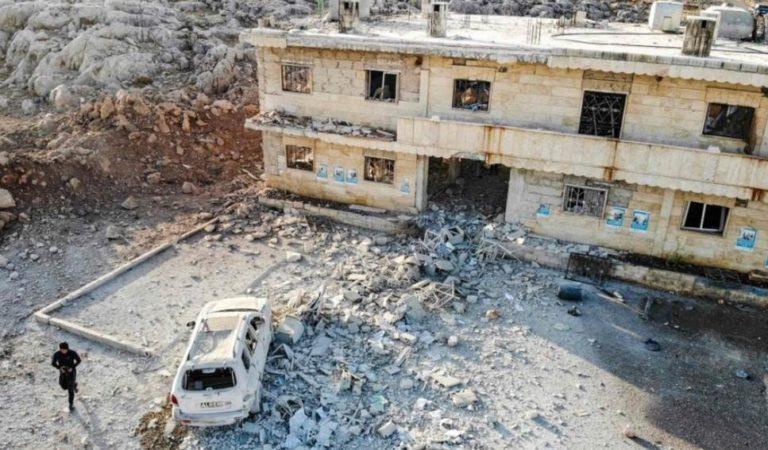 Así quedó destruido el lugar que bombardeó EU en Siria | VIDEO