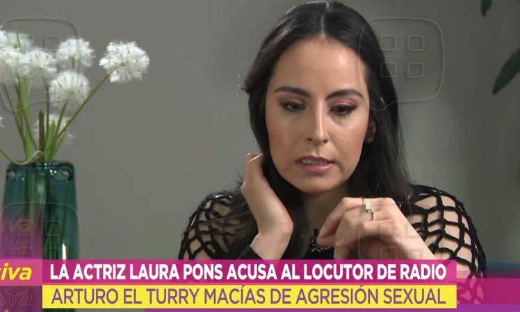 Arturo Macías de HOY, se tocó sus partes e hizo sex0 oral a Laura Pons | VIDEO