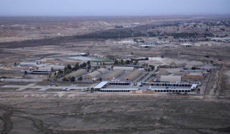 Bombardean base estadounidense en Irak