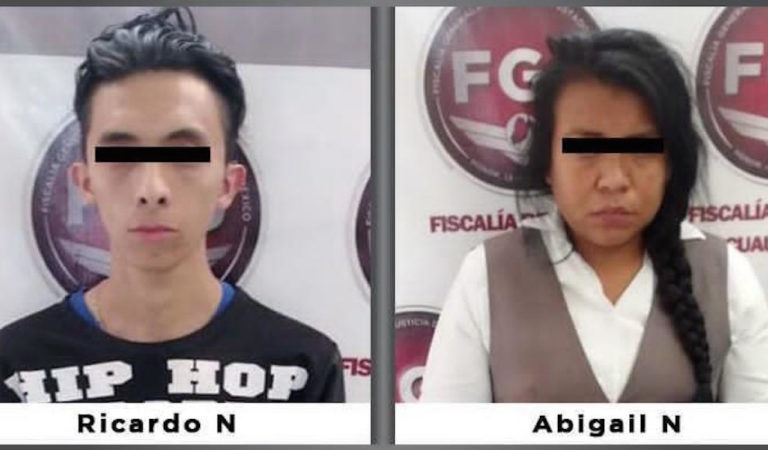 Detienen a pareja que 'robó' ahorros de abuelito en Banco Azteca; y llevó a suicidio