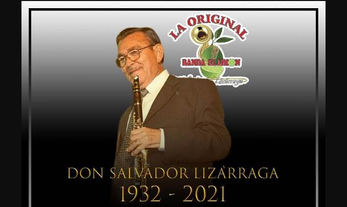 Fallece Salvador Lizárraga, fundador de La Original Banda el Limón