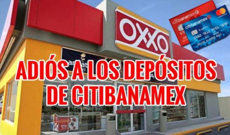 Depósitos Oxxo, ya no podrás hacerlo si eres cliente Citibanamex