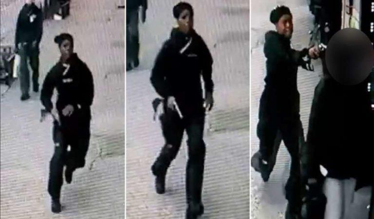 Mujer sale huyendo tras asesinar a su exnovia a plena luz del día en Nueva York