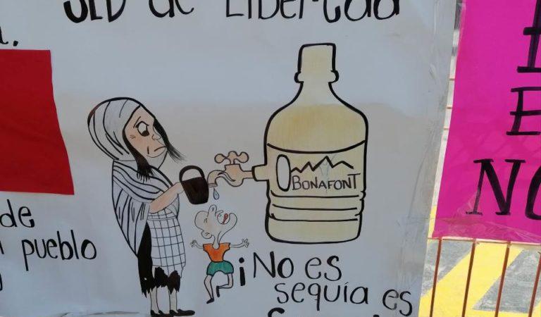 Bonafont deja sin agua a pueblos nahuas de Puebla, gana 66,500 millones al año