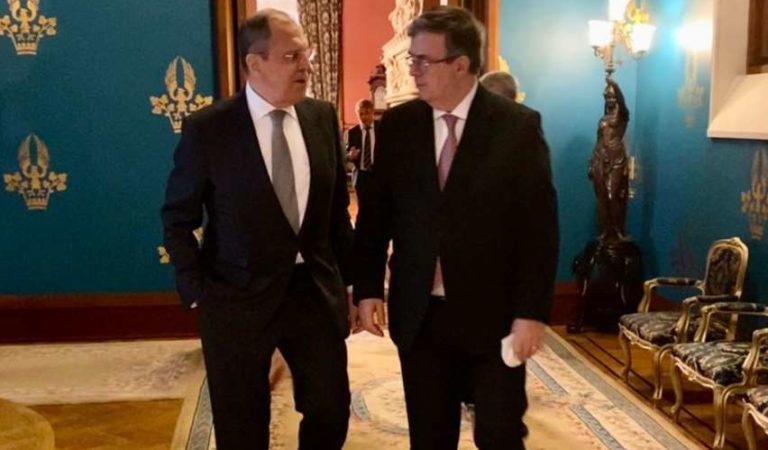 Rusia y México se unen más, destacan dialogo de cooperación