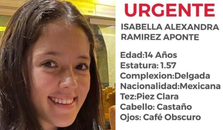 Desaparece Isabella Alexandra, menor de 14 años en Polanco