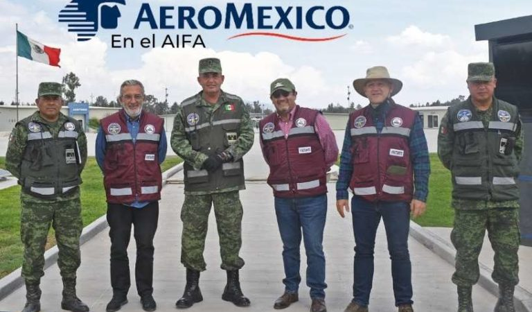 Directivo de Aeroméxico sorprendido con aeropuerto Felipe Ángeles, 'será de clase mundial'