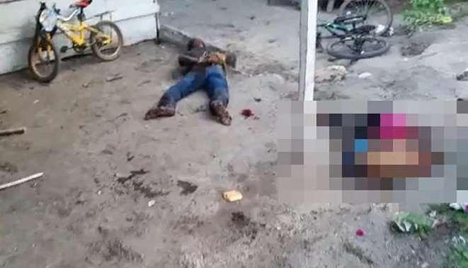 'Dios es amor', hombre mata a hijos y esposa en nombre de la fe | VIDEO
