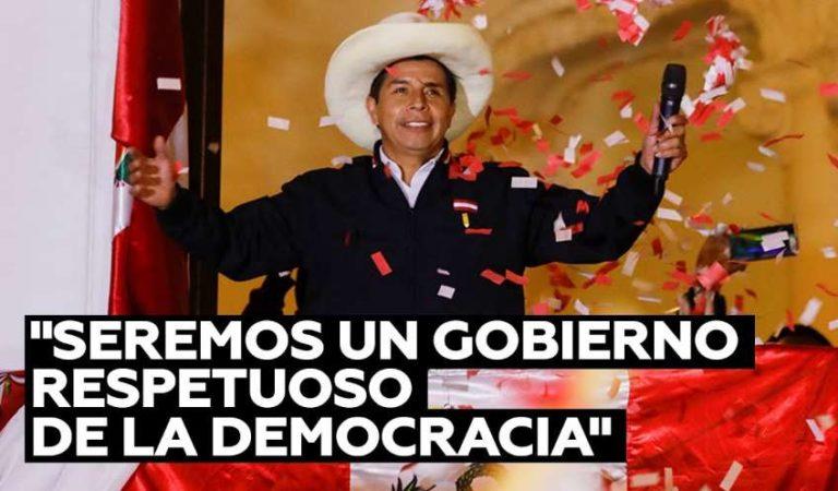 Pedro Castillo se declara ganador en Perú, habría superado a la derecha