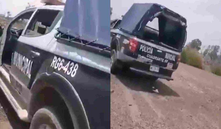 Podría ir a la cárcel persona que grabó a policías de Ecatepec en pleno acto