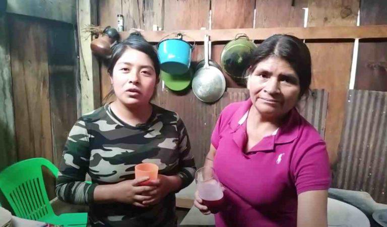 Mujer de pueblo presenta su humilde casa y su ranchito y se hace famosa