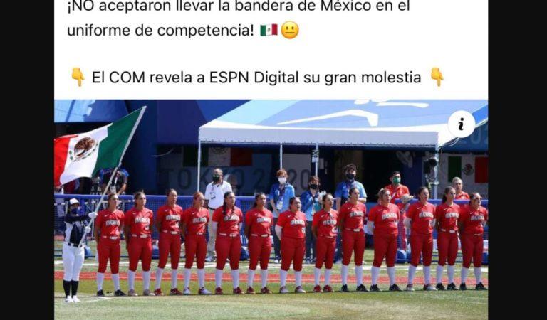 Deportistas mexicanos critican a jugadoras de softbol y manifiestan su amor por México
