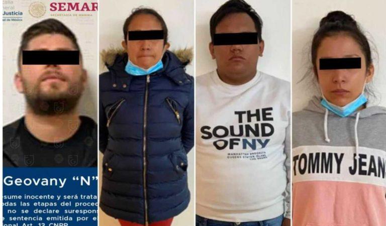Detenidos por balacera en aeropuerto de CDMX, vinculados a extorsión y secuestro
