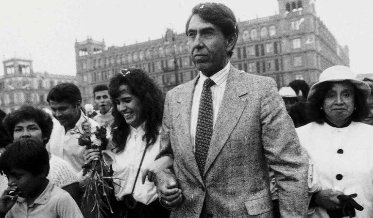 Muere Celeste Batel, esposa de Cuauhtémoc Cárdenas; AMLO lamenta